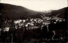 1950 Stempel & AK St. Blasien Schwarzwald Gesamtansicht Talblick Kuppel des Dom