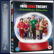 THE BIG BANG THEORY CHRISTMAS EPISODES   **BRAND NEW DVD  **