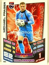 Match Attax 2012/13 SPL - Scottish Premier League - #165 Michael Fraser