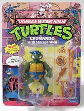 Teenage Mutant Ninja Turtles TMNT - Leonardo with Storage Shell Action Figure