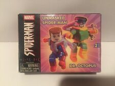 Marvel Minimates Unmasked Spider-Man & Dr. Octopus New 2in. mini Collectible 4+