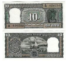 INDIEN INDIA 10 RP 1985-90 LETTER G SIGN 85 UNC P 60 l