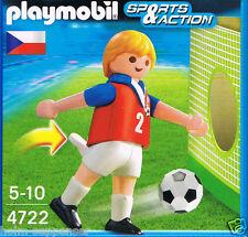 Playmobil Fußball Spieler 4722 Tschechien Kick Tore Figur Spaß OVP und Neu