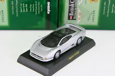 Kyosho 1/64 Jaguar XJ220 Silver British Miniature car Collection 2006 JP Limited