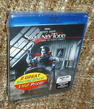 SWEENEY TODD/SLEEPY HOLLOW 2 BLU-RAY DISC SET, NEW & SEALED, RARE, JOHNNY DEPP