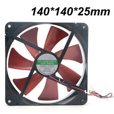 140mm 4-Pin 12V PC CPU Host Chassis Computer Case IDE Cooling Fan ~ Quiet Cooler