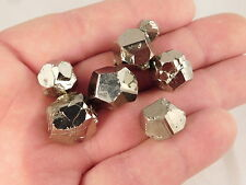 A BIG! Lot of Small 100% Natural Dodecahedron Pyrite Crystals From Peru 43.5gr