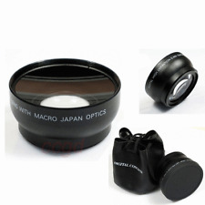 Professional 0.45x 55mm Super Wide Angle Lens For Canon Nikon DSLR Camera