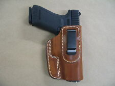 Ruger P93, P94, P345 Leather In The Waistband Concealed Carry Holster CCW TAN RH