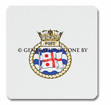 FLAG OFFICER SEA TRAINING (FOST) GLASS KITCHEN CHOPPING BOARD