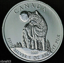 2011 CANADA Wolf  1 oz 99.99% silver - great condition!!