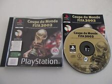 COUPE DU MONDE DE LA FIFA 2002 - SONY PLAYSTATION PS1 PSONE PS2 PAL FR COMPLET