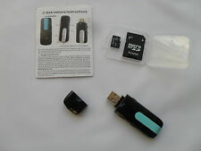 Mini HD DVR U8 USB DISK Hidden Camera Spy Motion Detector Video Recorder Web Cam