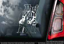 The Who - Car Window Sticker - Rock Band Music Sign Art Gift Mod