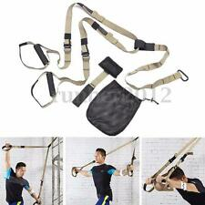 Pro Trainer Strap Band Suspension Body Resistance Exercise Home Gym Yoga Sport