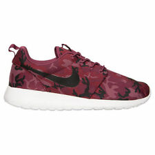 NIKE ROSHERUN PRINT Roshe Running Trainers Shoes Casual UK 7 (EU 41) Villain Red