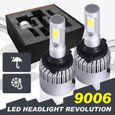 160W 16000LM CREE LED Headlight Kit Light Bulbs 6500K White High Power 9006 HB4