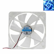 14cm 140mm Blue LED 12V 4Pin 1900RPM Computer PC Case Cooler CPU Cooling LED Fan