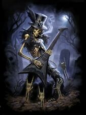 NEW * PLAY DEAD * GOTHIC ROCKER 3d FANTASY ART PRINT IMAGE