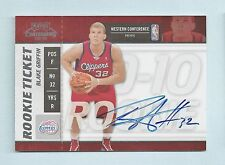 BLAKE GRIFFIN 2009/10 PLAYOFF CONTENDERS RC SIGNATURE AUTOGRAPH AUTO CLIPPERS
