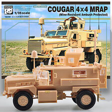 PANDA 1/35 COUGAR 4X4 MWRAP (MINE-RESISTANT AMBUSH PROTECTED) MODEL KIT