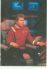 """STAR TREK-UNDISCOVERED COUNTRY-CAPTAIN KIRK IN CHAIR-1992-4""""X6""""-(SK-105*)"""