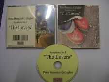 PETER BENEDICT GALLAGHER Symphony No 3 The Lovers – 1995 UK CD – Experimental