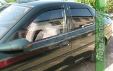 DOP25332 VAUXHALL VECTRA B SALOON 1996-2002 WIND DEFLECTORS 4pc HEKO TINTED