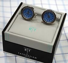 Blue Big Ben - Tateossian Cufflinks - RT Watch Mechanical