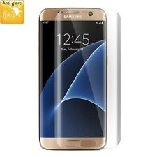 1x Samsung Galaxy S7 Edge FULL Screen protector Foil HIGH QUALITY MATTE