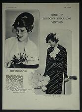 Mrs Dieudonne Costes Princess Jose De Bourbon D'Ora Kallmus 1934 Photo Article