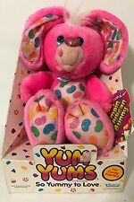 1989 Kenner Yum Yums Jumpin Jellybean Bunny Plush In Box Pink