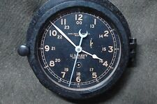 US NAVY Chelsea Ships Clock serial 220009 - July 1937 WWII 11E Movement Rare