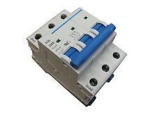 63 Amp 3 Pole Din Rail Mount Circuit Breaker UL 208, 230, 240 & 480 Volt Class C