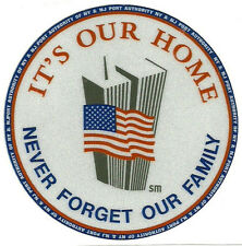 9-11 Twin Towers NYC NEW REFLECTIVE Sticker NY NJ Port Authority Police