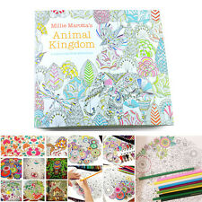 WS AU Kids Animal Kingdom An Inky Treasure Hunt and Coloring Book Painting Book