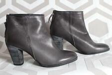 NIB N.D.C. made by hand Nell Faggio Anthracite 37.5 $528 Boots Gray Leather