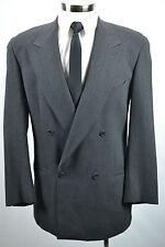 (40R) Mani by Armani Men's Charcoal Gray Italian Wool Sport Coat Blazer Jacket