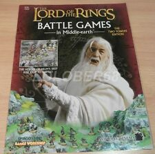 LORD OF THE RINGS Battle Games in Middle-earth Magazine THE TWO TOWERS EDITION