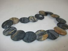 "16"" Strand 30mm Picasso Jasper Stones Beads Jewelry Making"
