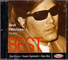 ZOUNDS - JOSE FELICIANO - Hey Baby - Best - rare audiophile CD 2004 dig. rem.