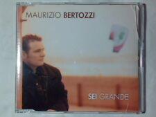 MAURIZIO BERTOZZI Sei grande cd singolo