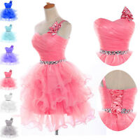 New Sweet Short Mini Prom Cocktail Ball Evening Birthday Party Dress Homecoming