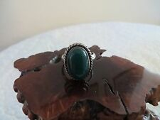 STERLING SILVER GREEN JASPER RING SIZE 9.5 *NWOT* 925 STERLING SILVER