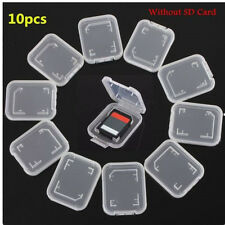 3Pcs SD SDHC Memory Card Case Holder Box Storage Hard Plastic Transparent Holder