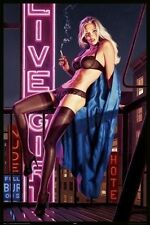 HILDEBRANDT POSTER PINUP SEXY GIRLS LINGERIE BEAUTIFUL WOMAN BRAND NEW Pin Up