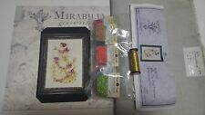 Ella,The Frog Princess Mirabilia MD129  chart with Fabric and beads and Kreiniks