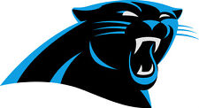 Carolina Panthers NFL Color Die-Cut Decal / Car Sticker *Free Shipping