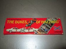 Vintage 1981 Dukes of Hazzard LCD Quartz Watch with Box