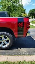 Truck Bed Stripe for Dodge Hemi turbo Ram sticker decal skull decal wrap mirror